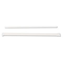 Dixie Jumbo Straws, 7 3/4