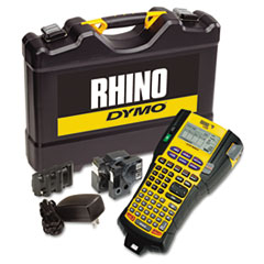 DYMO Rhino 5200 Industrial Label Maker Kit, 5 Lines, 6-1/10w x 11-2/9d x 3-1/2h