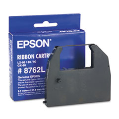 Epson 8762L Ribbon, Black