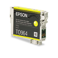 Epson T096420 (96) Ink, 430 Page-Yield, Yellow