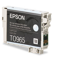 Epson T096520 (96) Ink, 430 Page-Yield, Light Cyan