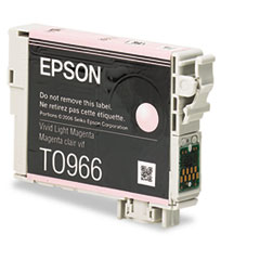 Epson T096620 (96) Ink, 450 Page-Yield, Light Magenta