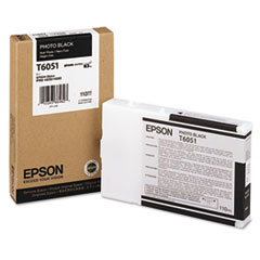 Epson T605100 (60) Ink, Photo Black