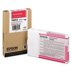 Epson T605300 (60) Ink, Vivid Magenta
