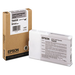 Epson T605900 (60) Ink, Light Light Black
