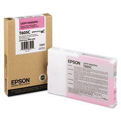 Epson T605C00 Ink, Light Magenta