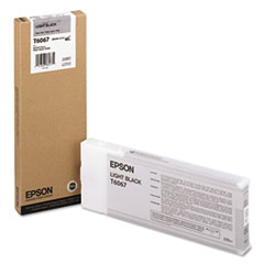 Epson T606700 (60) Ink, Light Black