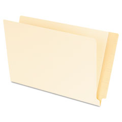 Pendaflex Laminated Shelf File Folders, Straight Cut End Tab, 11 Point Legal, 100/Box