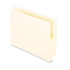 Pendaflex 1 3/4 Inch Expansion File, 25 Pockets, Straight Cut, Manila, Letter, 25/Box