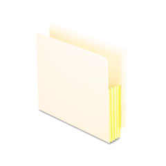 Pendaflex End Tab 5 Inch Expanding File, Straight Cut, Manila, Letter, 10/Box