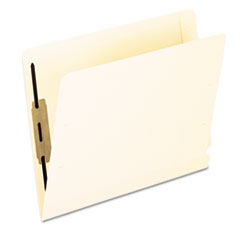 Pendaflex Laminated Spine End Tab Folder with 1 Fastener, 11 pt Manila, Letter, 50/Box