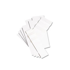 Blank Inserts for Hanging File Folders, 1/5 Tab, Two Inch, White, 100/Pack