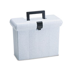 Pendaflex Portafile File Storage Box, Letter, Plastic, 14-7/8 x 6-1/2 x 11-7/8, Granite