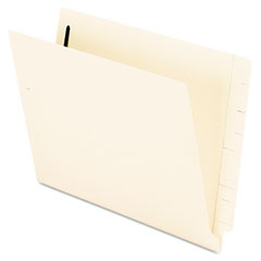 Pendaflex End Tab Expansion Folders, 2 Fasteners, Straight Cut Tab, Letter, Manila, 50/Box
