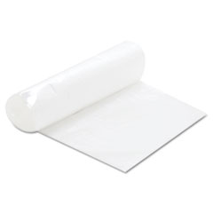 FlexSol Can Liner Hi-D Rolls, 24 x 24, 20 Rolls, Clear, 1000/Carton