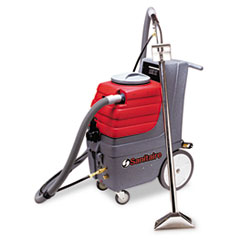 Electrolux Sanitaire Commercial Carpet Extractor, 9 Gallon TankCapacity, 50-Ft Cord, Red