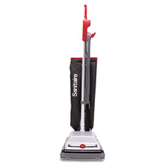 Electrolux Sanitaire Heavy-Duty Upright Vacuum, 18lb, Black