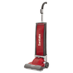 Electrolux Sanitaire DuraLite Commercial Upright, 10lb, Gray/Red