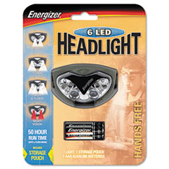 Energizer LED Headlight, 3 AAA, Orange