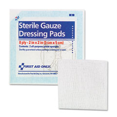 First Aid Only Gauze Pads, 2