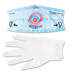 First Aid Only Rescue Breather Face Shield, 1/Box