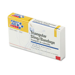First Aid Only First-Aid Refill Sling/Tourniquet Triangular Bandages, 40 x 40 x 56, 10/Pack