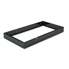 Bankers Box Metal Bases for Staxonsteel & High-Stak Files, Letter Size, Black