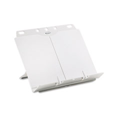 Fellowes BookLift Copyholder, Plastic, One Book/Pad, Platinum