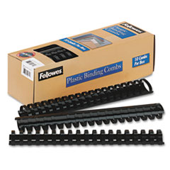 Fellowes Plastic Comb Bindings, 1-1/2