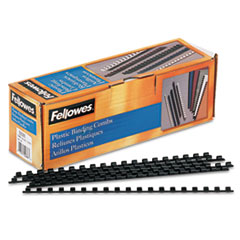 Fellowes Plastic Comb Bindings, 1/4