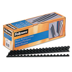 Fellowes Plastic Comb Bindings, 5/16