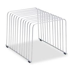 Fellowes Wire Desktop Organizer, 11 Comp, Wire, 9 x 11 3/8 x 8, Silver