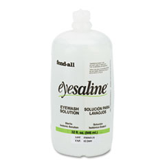 Honeywell Fendall Eyesaline Eyewash Saline Solution Bottle Refill, 32 oz