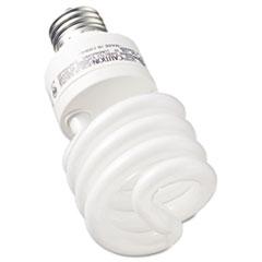GE Compact Fluorescent Bulb, 26 Watt, T3 Spiral, Soft White, 2/Pack