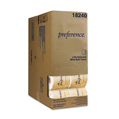 preference Two-Ply Embossed Bath Tissue, Dispenser Box, 550 Sheets/Roll, 40 Rolls/CT