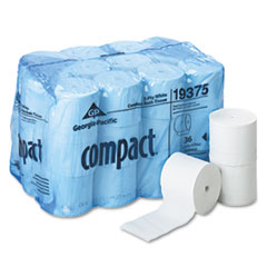 Compact Coreless Bath Tissue, 1000 Sheets/Roll, 36 Rolls/Carton