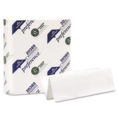 Georgia Pacific Professional Multifold Paper Towels, 9 1/4 x 9 1/2, White, 250/Pack, 16 Packs/Carton