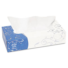 Angel Soft ps Ultra Premium Facial Tissue, White, 7.4