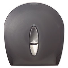 Georgia Pacific Professional Jumbo Jr. Bathroom Tissue Dispenser, 10.61 x 5.39 x 11.29, Translucent Smoke