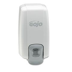 GOJO NXT Lotion Soap Dispenser, 1000ml, 5-1/8w x 3-3/4d x 10h, Dove Gray
