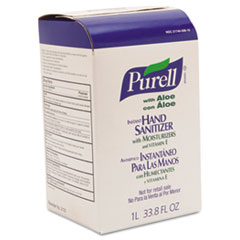 PURELL Advanced NXT Instant Hand Sanitizer NXT Refill w/Aloe, 1000ml Refill
