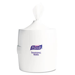 PURELL Hand Sanitizer Wipes Wall Mount Dispenser, 700/1200 Wipe Capacity, White