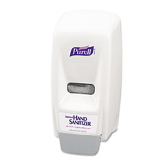 PURELL Bag-In-Box Hand Sanitizer Dispenser, 800mL, 5 5/8w x 5 1/8d x 11h, White