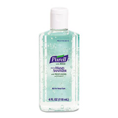 PURELL Instant Hand Sanitizer w/Aloe, 4-oz Flip-Cap Bottle