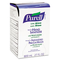 PURELL Instant Hand Sanitizer 800-ml Refill, Aloe, 12/Carton
