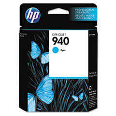 C4903AN (HP-940) Ink Cartridge, 900 Page-Yield, Cyan