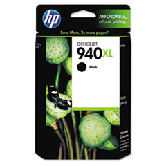 C4906AN (HP 940XL) Ink Cartridge, 2200 Page-Yield, Black