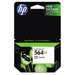 CB322WN (HP 564XL) Photo Ink Cartridge, 290 Page-Yield