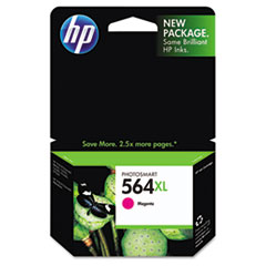 CB324WN (HP 564XL) Ink, 750 Page-Yield, Magenta