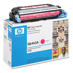 Q6463AG (HP 644A) Government Toner Cartridge, 12000 Page-Yield, Magenta